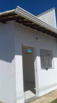 Casa Geminada Com 2 Quartos Para Comprar No Canarinho Em Igarapé/mg - 726