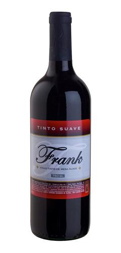 Vinho Tinto Suave Isabel/bordô 750ml - Frank