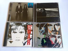 U2 Lote 4 Cds Pop / War / The Joshua Tree Anniversary Experi