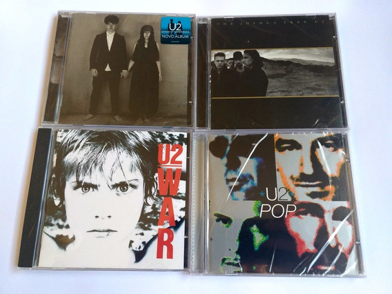 U2 Lote 4 Cds Pop / War / The Joshua Tree Anniversary Experi