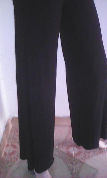 Bello Pantalon De Dama Negro De Vestir Importado Nuevo