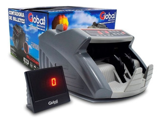Contadora De Billetes Detector Falsos Display Externo