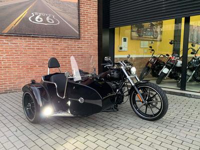 Harley Davidson Breakout 2015 Com Side Car - Exclusivo