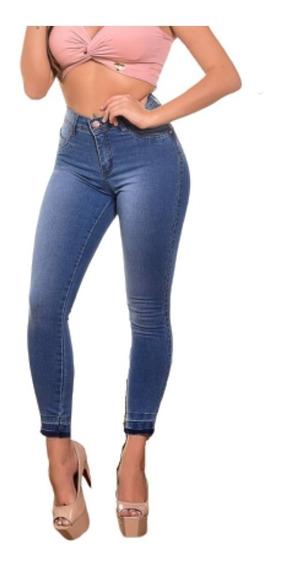 Roupas Feminina Calça Jeans Estilo Pit Bull Levanta Bumbum