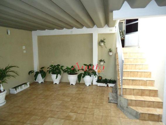 Casa Residencial À Venda, Jardim Santo Alberto, Santo André. - Ca0382