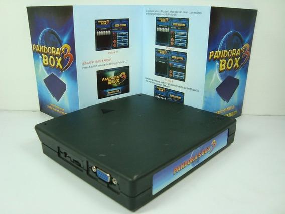 Pandora Box 3 520 Em 1 Brinde Botão Liga Desliga