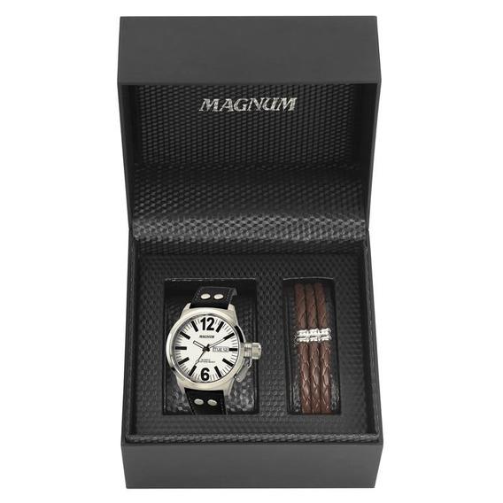 Kit Relógio Magnum Masculino - Ma31524d