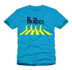 Playeras Drucken The Beatles John Lennon Paul Mccartney