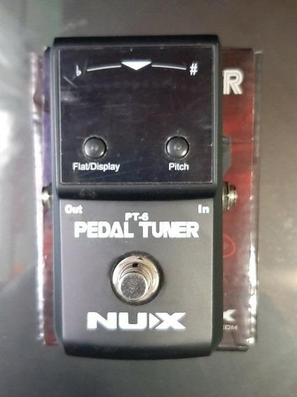 Pedal Afinador Cromático Nux Pt-6 (guitarra Y Bajo)