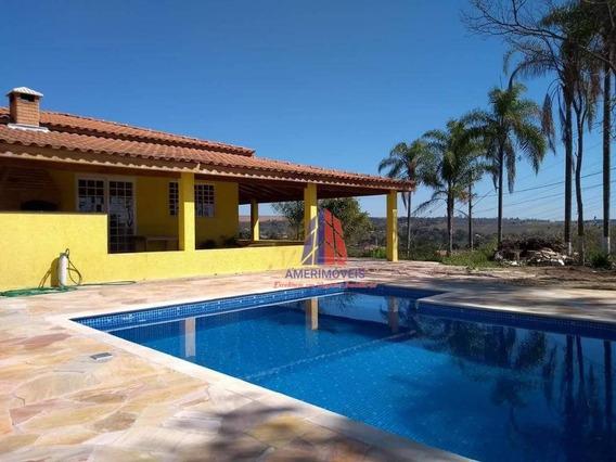 Chácara Com 2 Dormitórios À Venda, 730 M² Por R$ 420.000 - Chácara Recreio Cruzeiro Do Sul - Santa Bárbara D