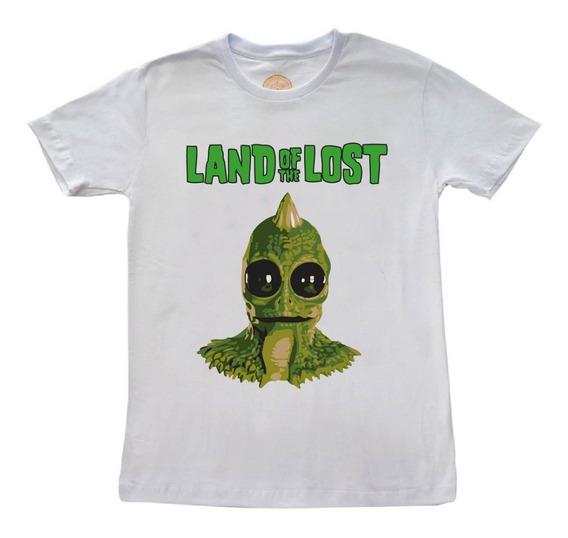 Camiseta Land Of The Lost (o Elo Perdido) Retrô Séries 1974