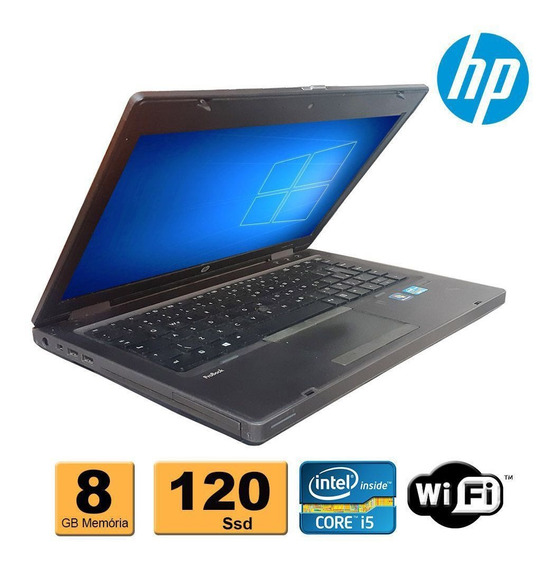 Notebook Hp Probook 6470b Core I5 8gb Ssd 120gb Refurbished