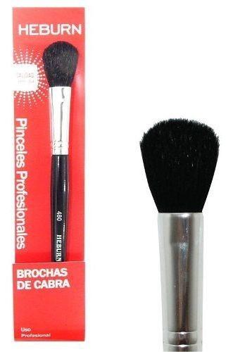 Heburn Brocha Para Maquillaje Cerdas Naturales Cabra Cod 480
