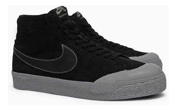 Tênis Nike Sb Blazer Zoom Mid Xt Preto 876872-006