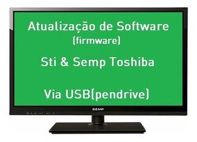 Atualização Software Tv Semp Toshiba Dl4061(a)f - Dl4061a
