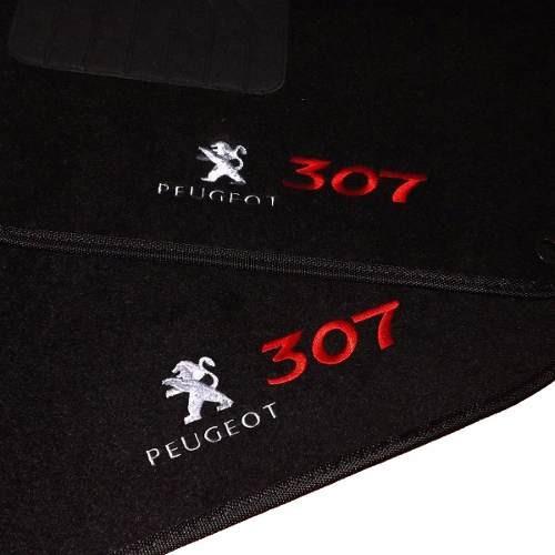 Tapete Peugeot 307 2003 2004 2005 2006 2007 2008 2009 Preto