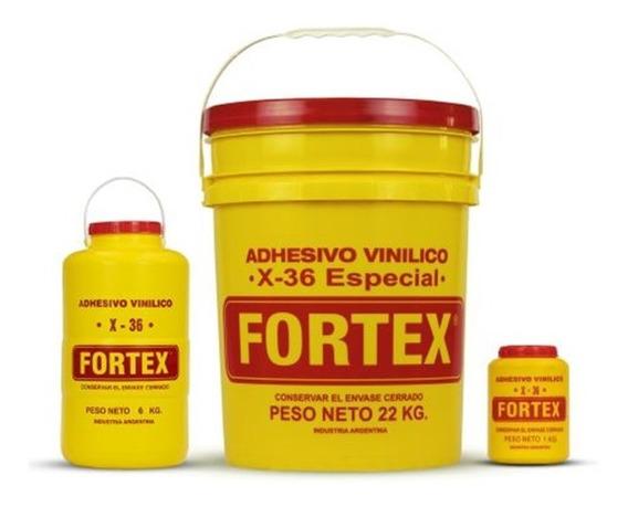 Cola Vinilica Fortex X36 X 1 Kg Mejor Resistente Carpinteria