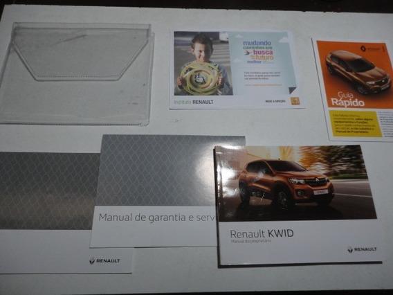 Manual Renault Kwid 2018 2019 Original 1.0 12v Flex Zen