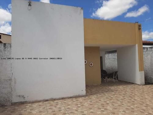 Imagem 1 de 15 de Casa Para Venda Em Teresina, Noivos, 3 Dormitórios, 1 Suíte, 2 Banheiros, 2 Vagas - Casa Noiv_2-1225976