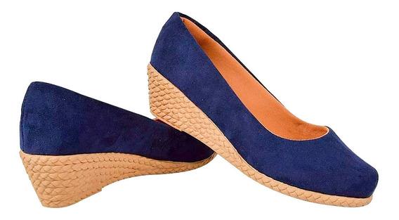 Sapato Feminino - Modelo: Anabela - Salto Alto 4,0