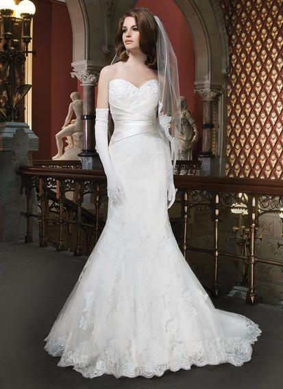 Vestido De Noiva Importado Do Estilista Justin Alexander