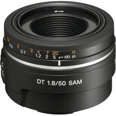 Sony Sal-50f18 50mm F/1.8 Dt Af Lente F Alpha Y Minolta