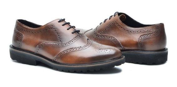 Sapato De Couro Legítimo Masculino Executivo Alto Confort 49