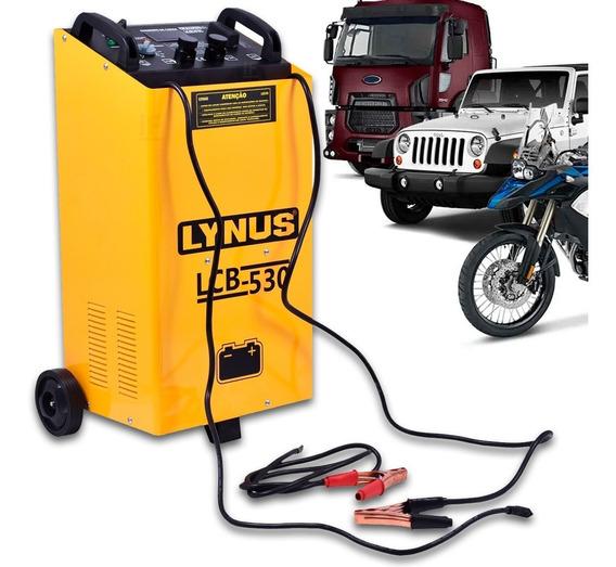 Carregador De Bateria Caminhao Lcb 530 75a 12/24v Lynus