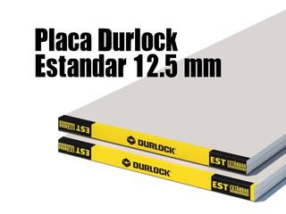 Placa Durlock Estandar Reforzada 12,5 120x240m Distribuidor