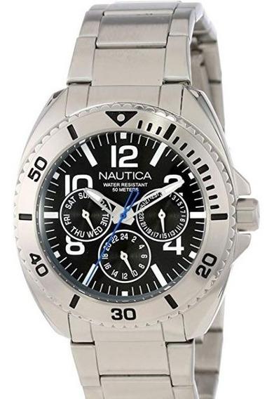 Relógio Masculino Náutica N11604g - Novo Original Caixa