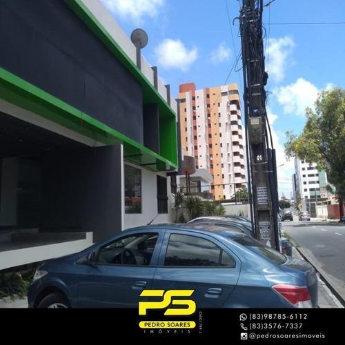 Imagem 1 de 15 de Ponto Para Alugar, 390 M² Por R$ 5.000/mês - Cabo Branco - João Pessoa/pb - Pt0043