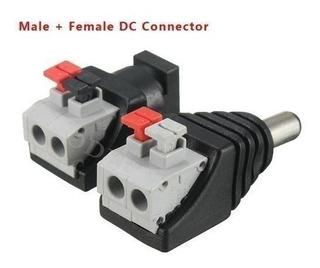 Jack Cámara Cctv 5.5x2.1mm Adaptador Cable Poder | Prisma