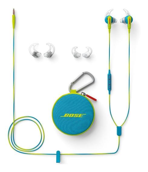 Fone Auricular Bose Mfi Neon Azul