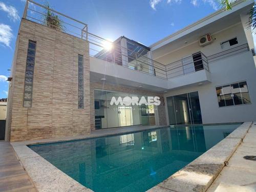 Casa Com 4 Suítes À Venda, 360 M² Por R$ 1.480.000 - Residencial Tivoli Ii - Bauru/sp - Ca2062