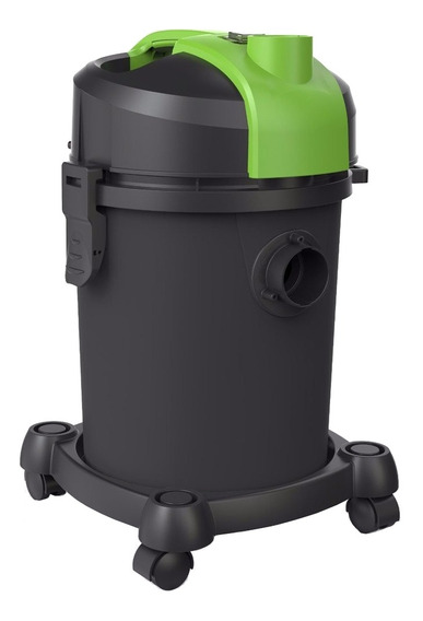 Aspirador IPC Ecoclean 18L preto e verde 220V