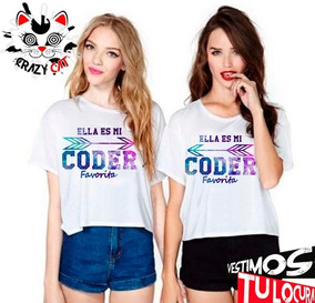 Playera Cd9 - Mi Coder Favorita ( 2 Pzas )