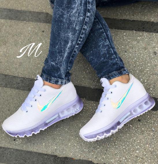 Zapatos Bata Para Niña - Tenis Nike para Mujer Blanco en ...