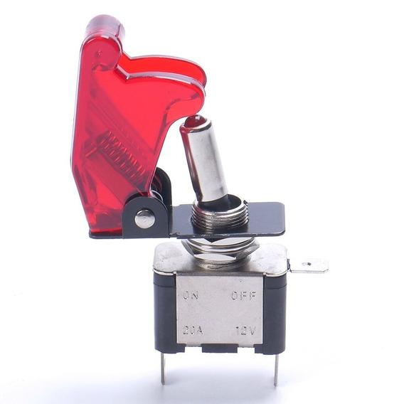 (frete $10) Chave Tic Tac Liga Desliga Avião Vermelho C/ Led
