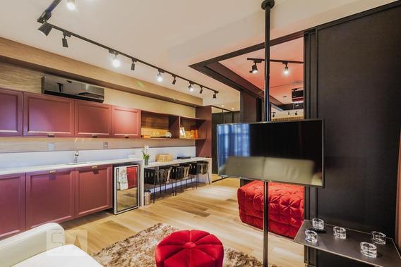 Apartamento Para Aluguel - Vila Olímpia, 1 Quarto, 49 - 893020818