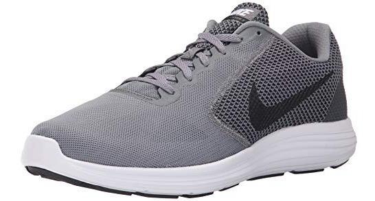 Zapatos Nike Modelo Revolution 3 Gris Original