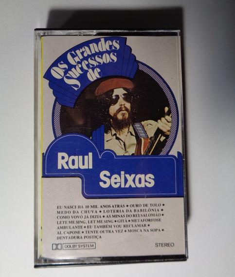 Raul Seixas Fita K7-cassete Grandes Sucessos De Raul Se 1983