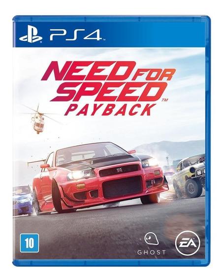 Need For Speed Pay Back Ps4 Mídia Física Lacrado
