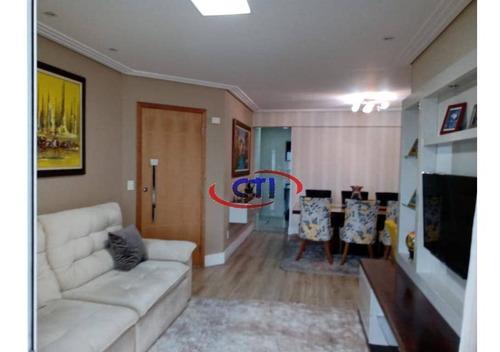 Apartamento Com 2 Dormitórios À Venda, 104 M² Por R$ 620.000,00 - Centro - São Bernardo Do Campo/sp - Ap3240