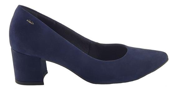 Sapato Salto Alto Scarpin Dakota G1441 Camurça Confortável