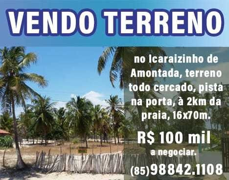 Vendo Terreno No Icaraizinho De Amontada - Ce