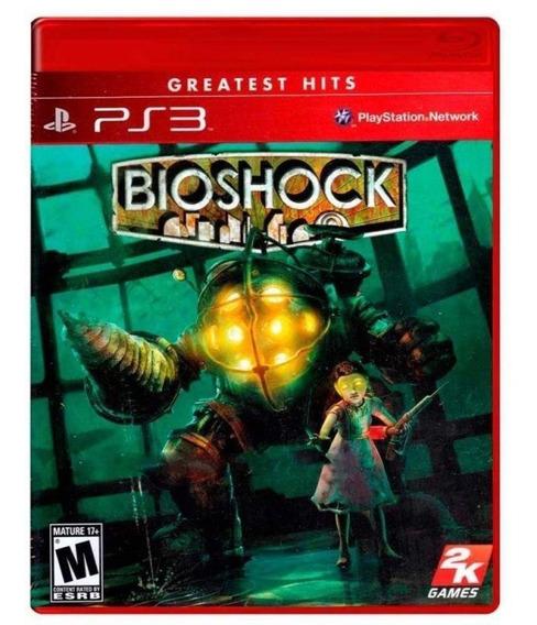 Jogo Ps3 Bioshock Original Usado Mídia Física