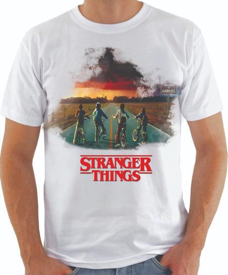 Camisa Stranger Things Séries Animes Desenhos Filmes Combo