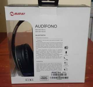 Audífonos Miray Am-8677b Over Ear