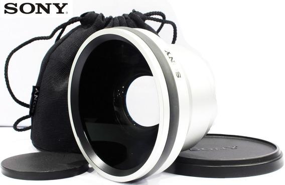Lente Sony Grande Angular 0.7x Vcl Hgd 0758 - Diâmetro 58mm