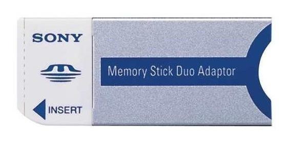 Adaptador De Cartão De Memória Sony Memory Stick Duo Adapter